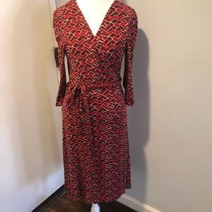 Banana Republic Wrap Dress Size L